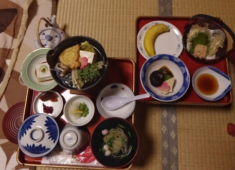 Abendessen nach shojin ryori Art