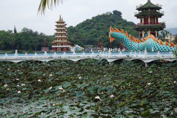 Lotussee/ Lotus Lake Kaohsiung Taiwan